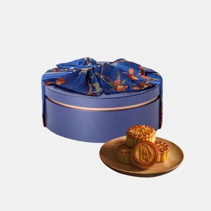月饼礼盒系列 俪月 | 单层珠光宝盒