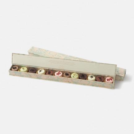 巴黎之月中秋礼盒 | 茶叶巧克力饰面玛德琳蛋糕
