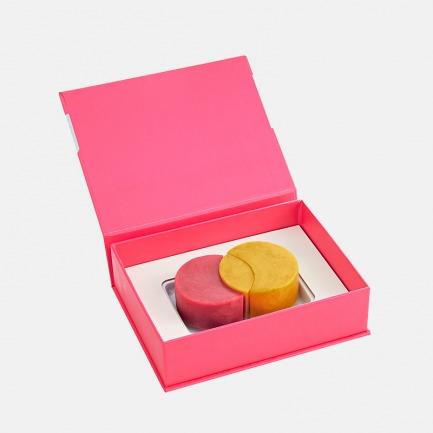 杰拉朵冰淇淋月饼 | 红心咸蛋黄x马达加斯加香草荚【 2枚装 175g】