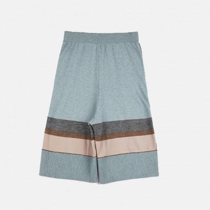 睡衣型条纹男款7分裤 | 居家睡衣风格【情侣款】