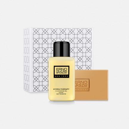 水滢柔润双重洁颜组 | 洁颜油+活力润泽皂 温和清洁去角质 缓解皮肤干燥脱皮
