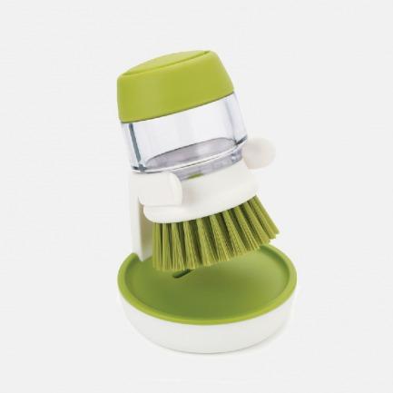 自带皂液的皂液刷   轻松去油污 好刷不伤锅