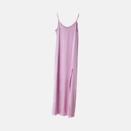 紫色长款吊带裙 | 真丝 最好的睡眠伴侣