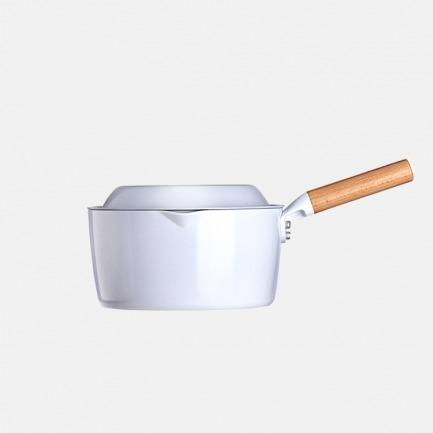元素奶锅 | 获红点奖 不粘陶瓷釉 轻巧易收纳