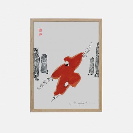音悦+ 艺术蓝牙音响-来去无踪 | 漫画大师蔡志忠独家授权【两种规格】