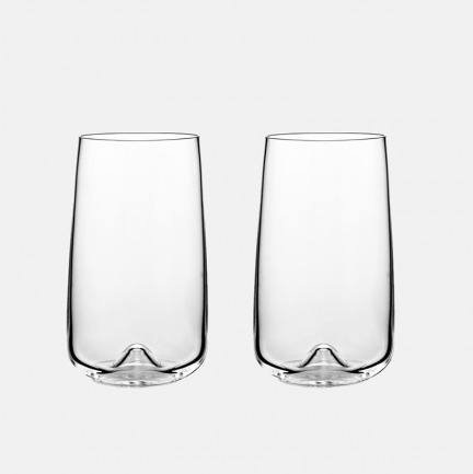Long Drink Glass长款玻璃杯 | 【450ml两只装】