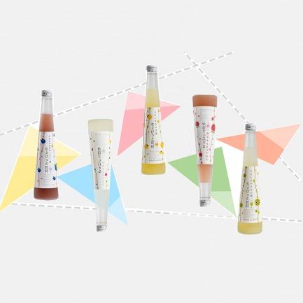 日本进口微发泡小甜酒 | 轻轻干一杯系列【五种水果口味】