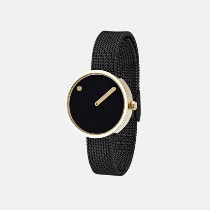 丹麦极简风潮创意点线结合设计腕表 |【多色可选】