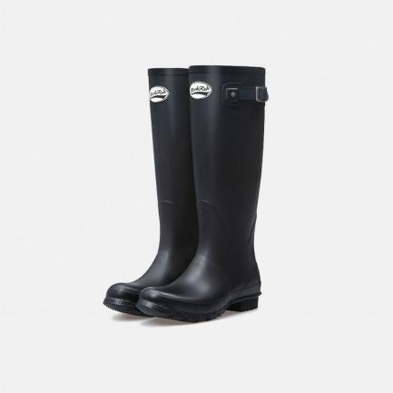 经典威灵顿高筒哑光雨靴 | 百年英伦精湛技艺 修饰完美腿型【黑色】