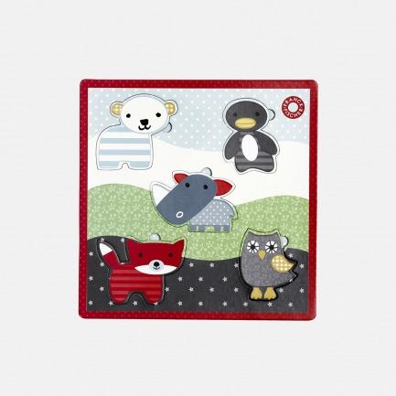 动物趣味拼图【多款可选】 |  安全环保,携带方便