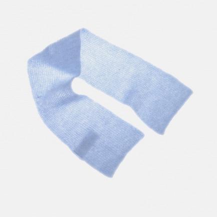 马海毛口袋围巾 | 造型感强 柔软超弹【四色可选】