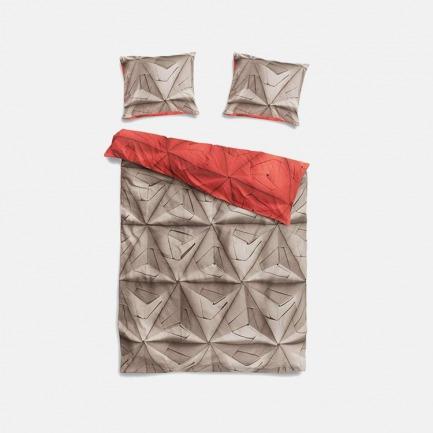 创意3D折纸印花三件套 | 打破传统无趣 双面双色