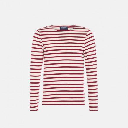 圆领全条纹长袖T恤-男女同款 |  条纹衫鼻祖 众多明星同款