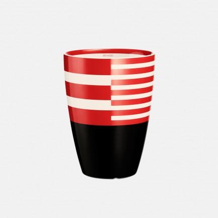 ITMUG 乐谱上的最强音 弧形双层隔热马克杯-红 | 漂亮喝水的理由