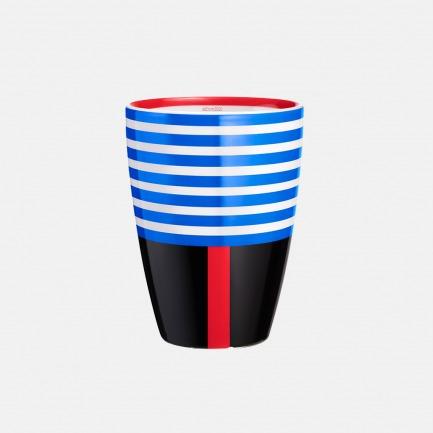 ITMUG 乐谱上的最强音 弧形双层隔热马克杯-蓝 | 漂亮喝水的理由