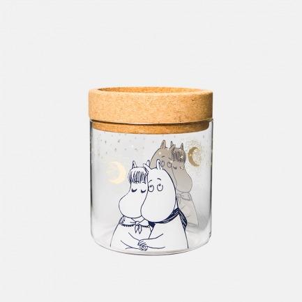 姆明冬季限量系列 玻璃烛台 储物罐