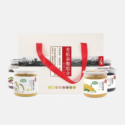 有机杂粮精品礼盒 | 6种粗粮产地有机可追溯