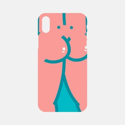 粉蓝色的屁屁 X 手机壳 | 性启萌插画系列 把性玩出高级感