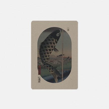东京浮世绘四季手账之春-鲤鱼旗的春天