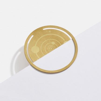 时光系列黄铜书签 | 记录独属你的读书痕迹