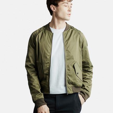 军绿格棒球夹克 | 纽约时装周设计师品牌