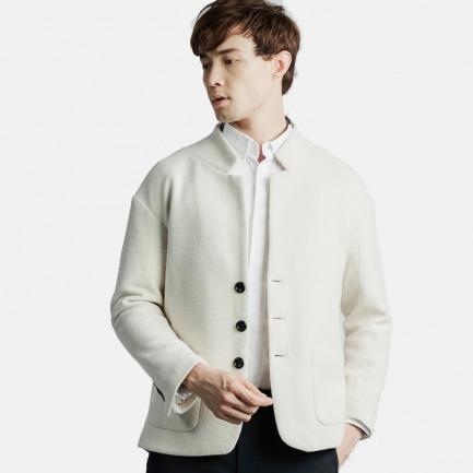 圈圈绒立领西装 |  纽约时装周设计师品牌
