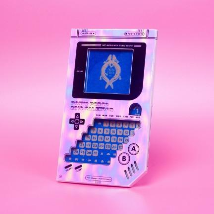2018电子游戏器年历 月历   Risograph12色特别印制