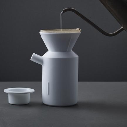短嘴手冲咖啡具三件套 | 不会落盖的咖啡冲泡杯