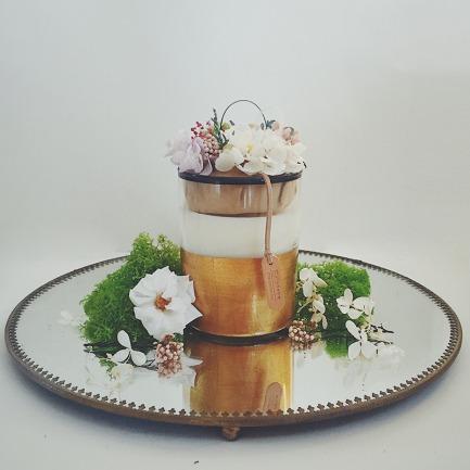 阳光花房花艺香薰蜡烛 | 绚丽灿烂 清新淡雅
