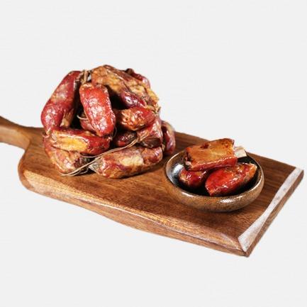 大厨小食-正宗四川排骨香肠 | 纯粮山猪喂养 纯手工灌制
