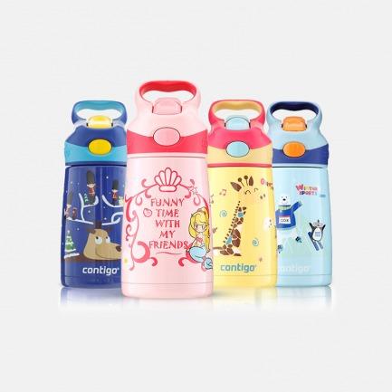 儿童保温吸管杯300ml | 一键开盖 大杯口设计 方便实用【多色可选】
