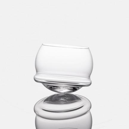 BUDAO水晶不倒杯-透明色 | 捷克著名水晶艺术世家设计【两款可选】