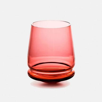 BUDAO水晶不倒杯-红色 | 捷克著名水晶艺术世家设计【两款可选】