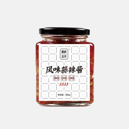风味蒜辣酱360g | 新鲜米椒 180独家酱方熬制