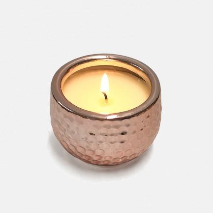 玫瑰金陶罐香薰蜡烛    可连续使用25小时 【多种香型】