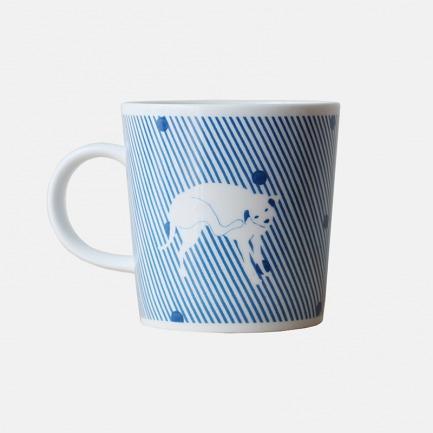 白纹马克杯   手绘动物造型 动感趣味【多款可选】