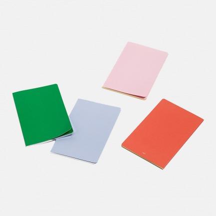 丹麦品牌 纯色鎏金笔记本 | 低调又独特 有色内页设计【两色】
