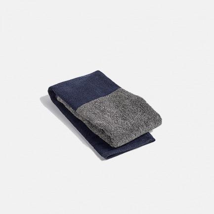 拼色毛巾浴巾   亲肤舒适 纯棉【两色】