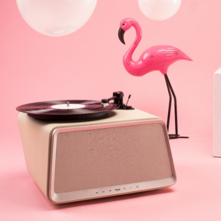Seed 象牙白黑胶唱片机 | 用黑胶享受音乐之趣