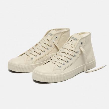 日本冈山帆布高帮硫化鞋 | 传统硫化鞋制法 不裂胶不磨脚不易变形