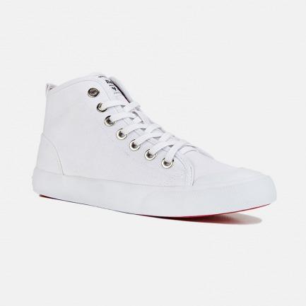 高帮帆布鞋-情侣款小白鞋 | 众多明星网红推荐 男女同款
