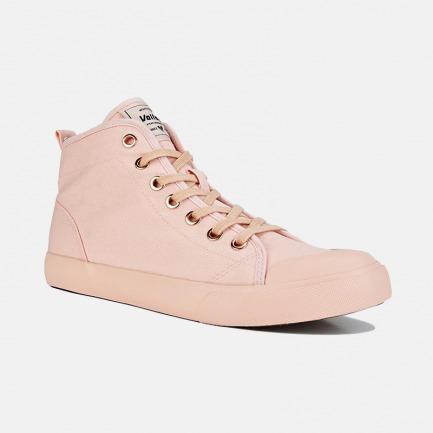 高帮帆布鞋-情侣款粉色 | 众多明星网红推荐 男女同款