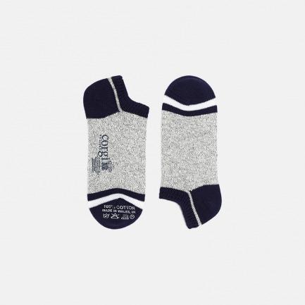 三色手工经典纯棉袜 | 100%棉 经典纯色 时尚必备