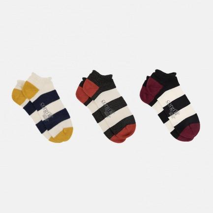 手工条纹纯棉袜 | 经典条纹系列 亲肤简约时尚百搭