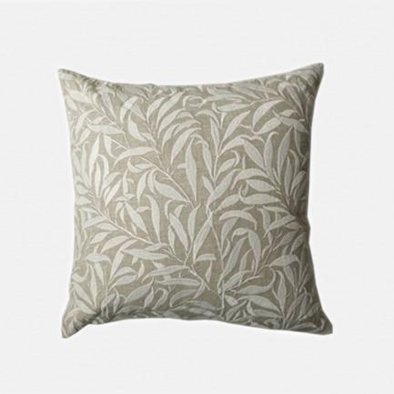 满底柳叶绣花靠垫 | 英国复古花纹鼻祖 亚麻材质 舒适耐用