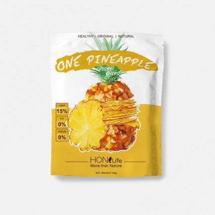 哥斯达黎加菠萝薄脆x2袋 | 1mm超薄脆片 一袋浓缩一整颗菠萝