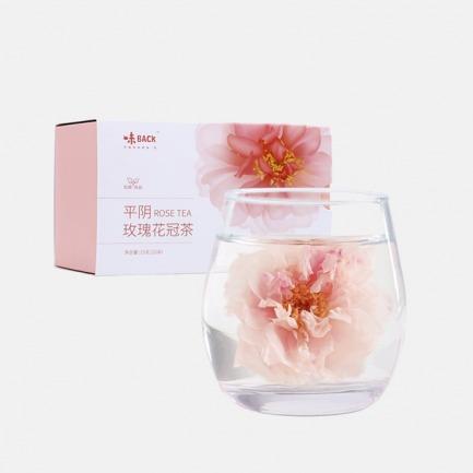 平阴初露玫瑰花冠茶 | 每10斤头花只有1斤花冠王