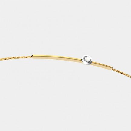 18k金 贝利珠钻石手链 | 明星同款单品 轻奢时尚 设计精致
