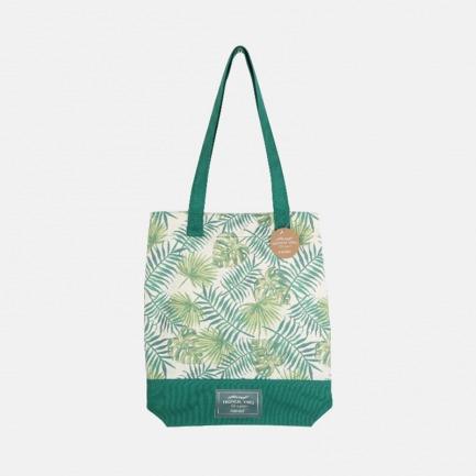 单肩包帆布袋 北欧绿植主题 | 环保主题 原创印花清晰 布料耐用