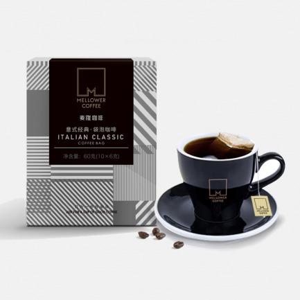 意式经典袋泡咖啡 | 精选阿拉比卡咖啡豆 深度烘焙